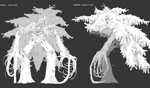 Tree Creature Design
